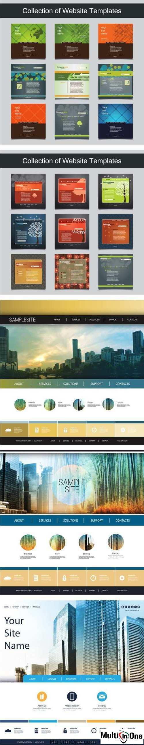 Big Set Of Websites Templates 6