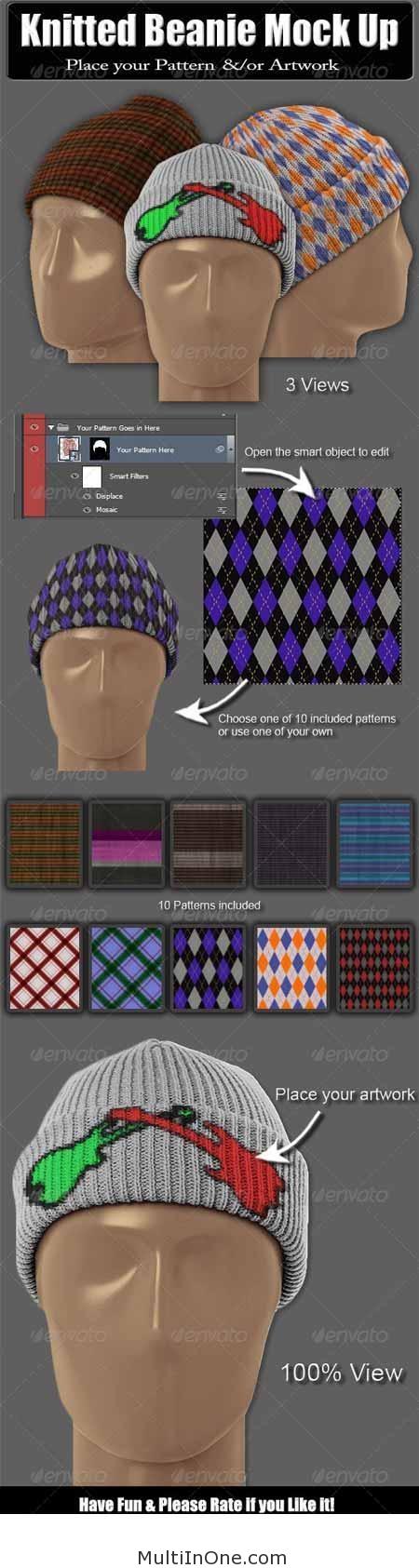 Knitted_Beanie_Mock_Up(MultiInOne.com)